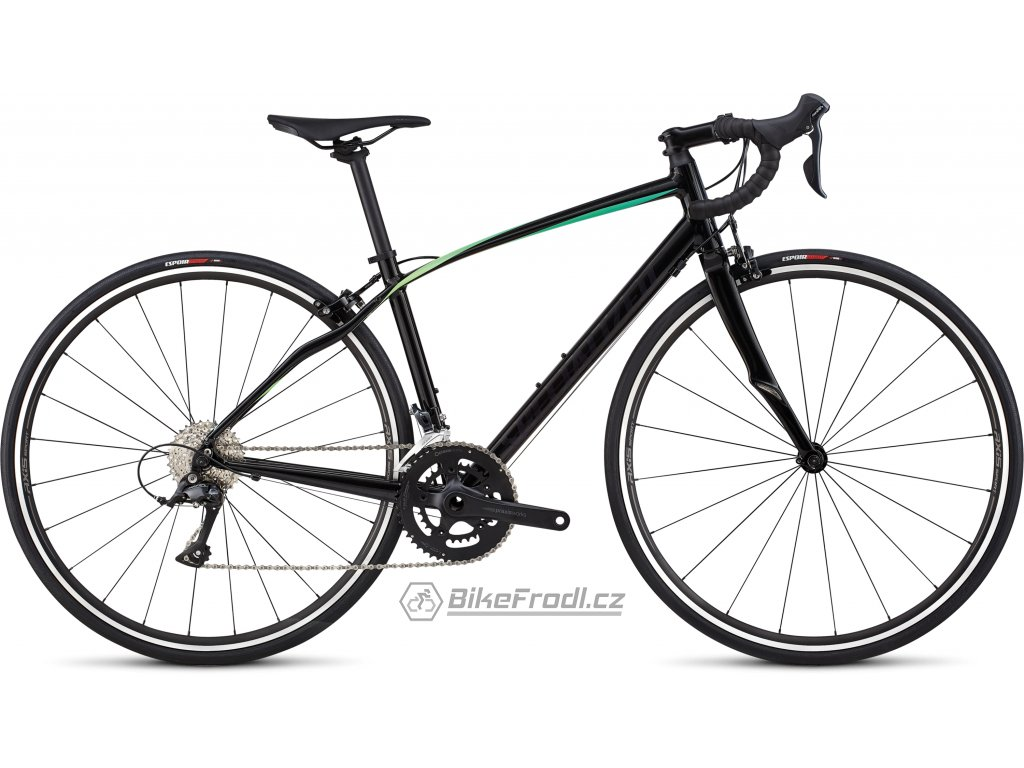 SPECIALIZED Dolce Sport Gloss Satin Tarmac Black/Cali Fade, vel. 48 cm
