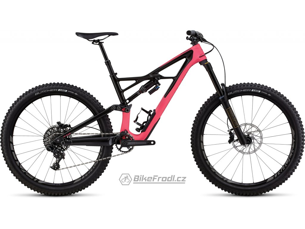 SPECIALIZED Enduro Elite 27.5 Satin Gloss Acid Pink/Carbon, vel. L