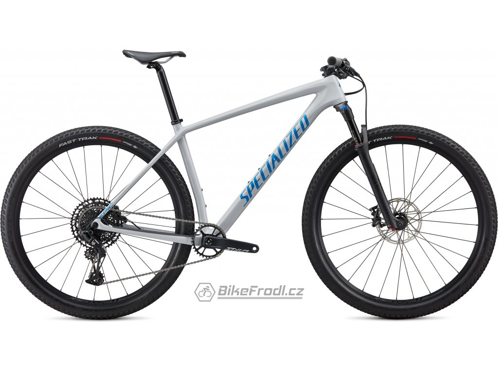 SPECIALIZED Epic Hardtail Comp Gloss Dove Grey Blue Ghost Pearl/Pro Blue, vel. L