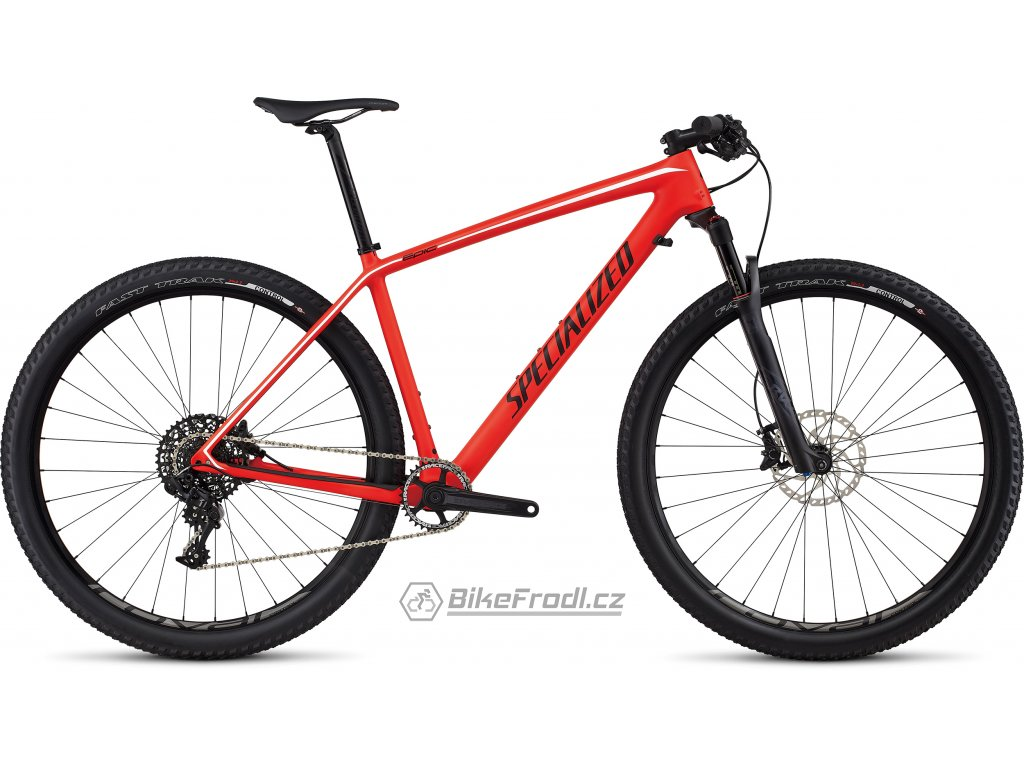 SPECIALIZED Epic Hardtail Expert Carbon World Cup Satin Rocket Red/Black/White, vel. XL