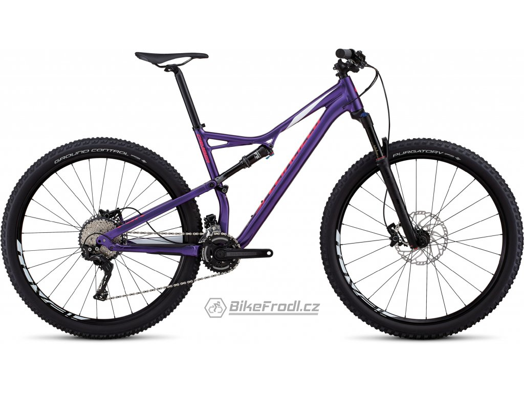 SPECIALIZED Men's Camber Comp 29 Heritage Gloss Purple/White/Acid Pink, vel. XL
