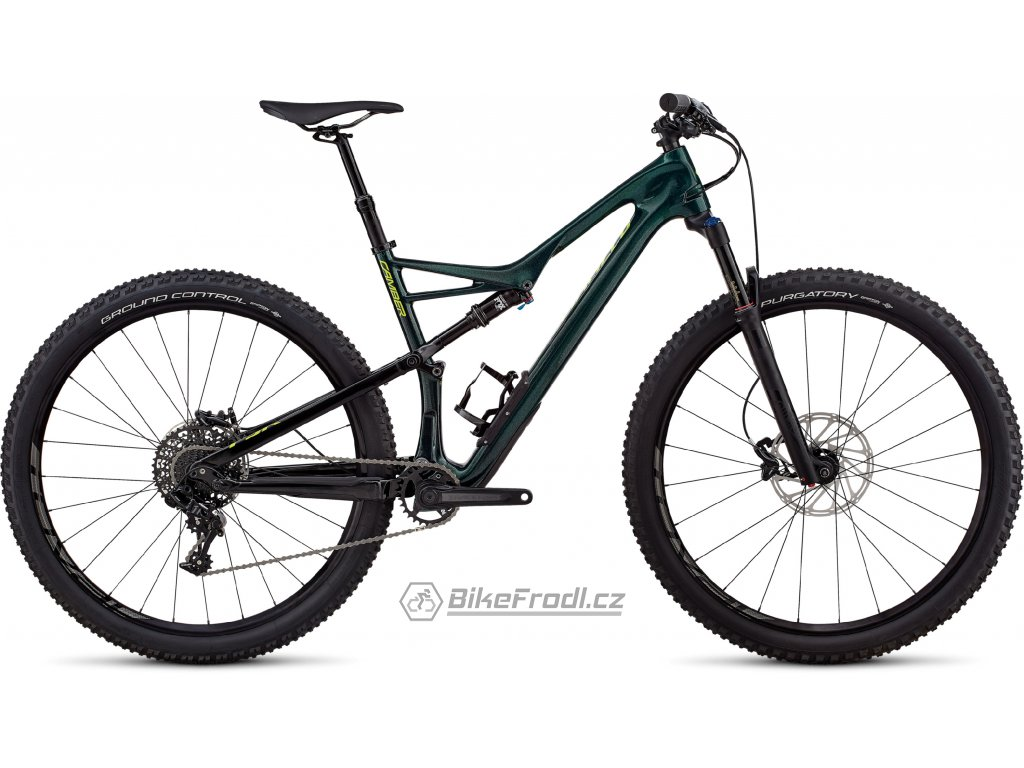 SPECIALIZED Men's Camber Comp Carbon 29 - 1x Gloss Cavendish Green/Hyper Green Clean, vel. L
