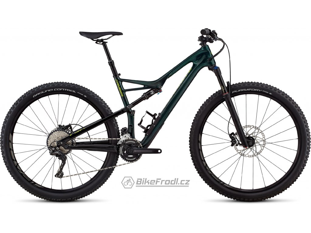 SPECIALIZED Men's Camber Comp Carbon 29 - 2x Gloss Cavendish Green/Hyper Green Clean, vel. S
