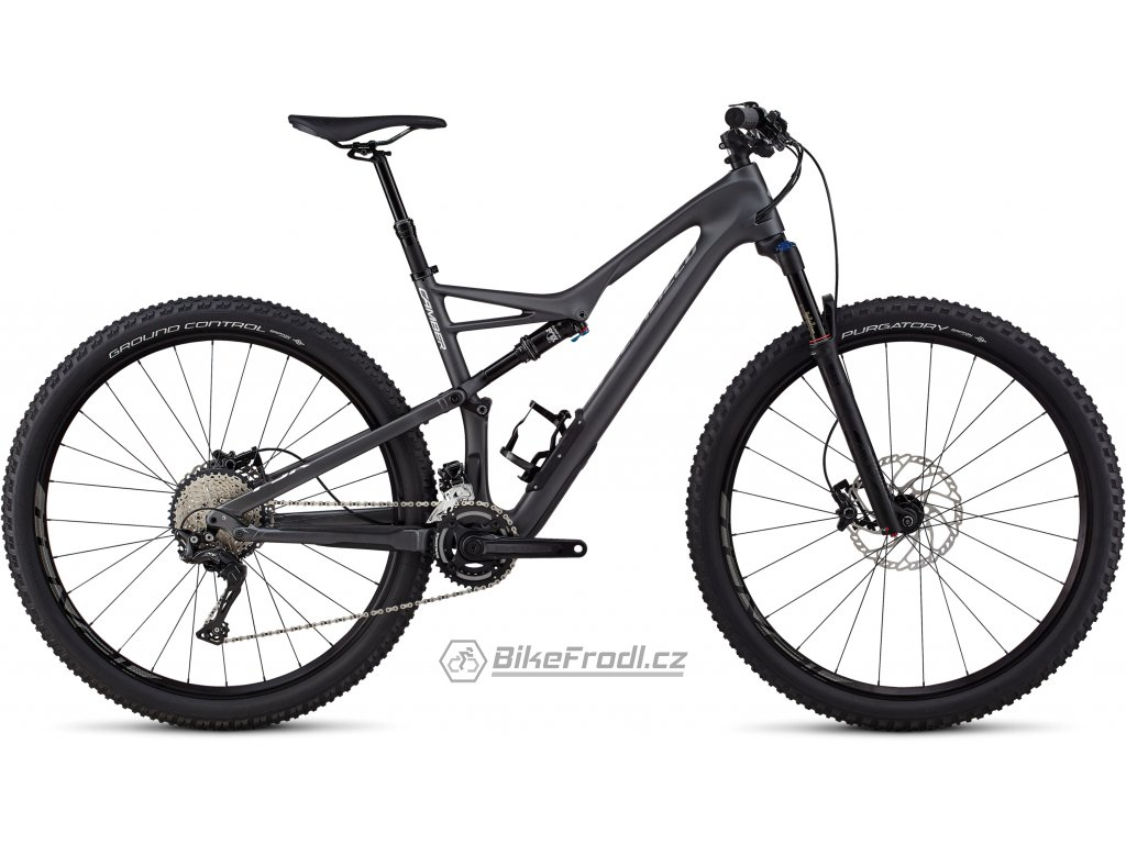 SPECIALIZED Men's Camber Comp Carbon 29 - 2x Satin Graphite/Flake Silver Clean, vel. L