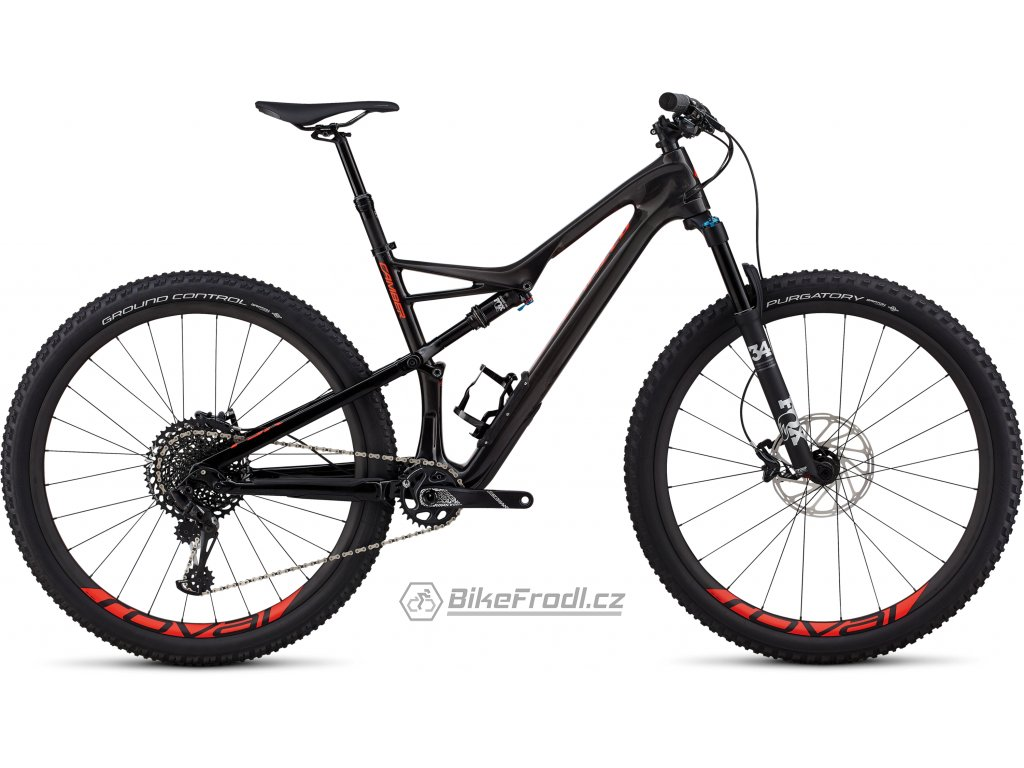 SPECIALIZED Men's Camber Expert 29 Gloss Carbon/Red Flake Tint Carbon/Rocket Red, vel. L