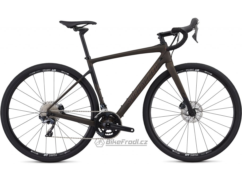 SPECIALIZED Men's Diverge Comp Satin Brown Tint/Black/Copper, vel. 54 cm