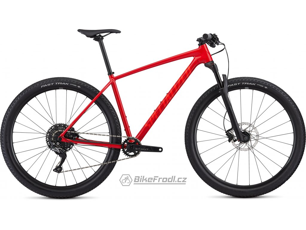 SPECIALIZED Men's Chisel Comp X1 Gloss Flo Red/Rocket Red, vel. M