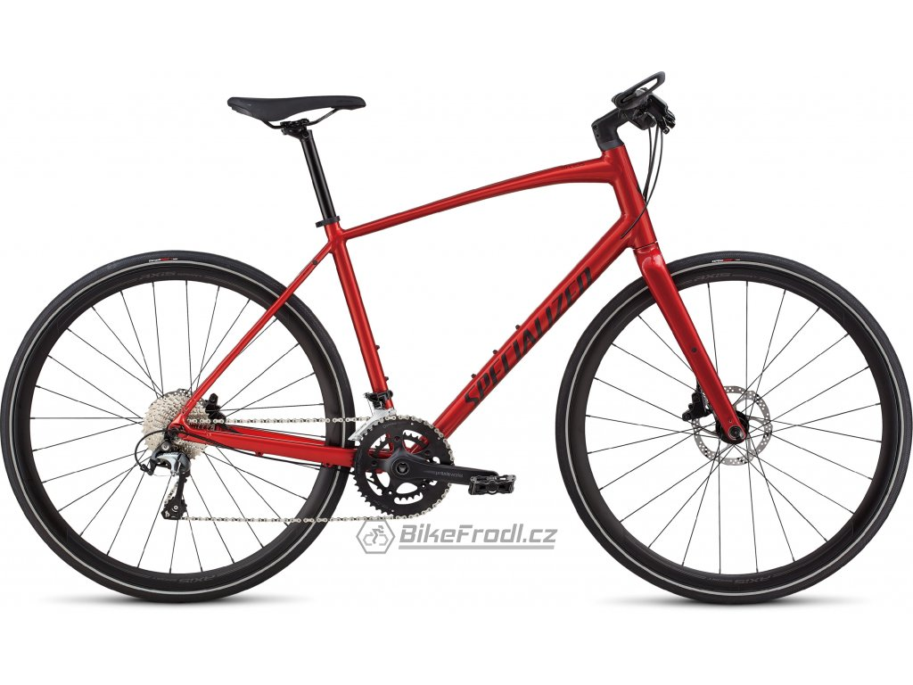 SPECIALIZED Men's Sirrus Elite Alloy Candy Red/Rocket Red, vel. L