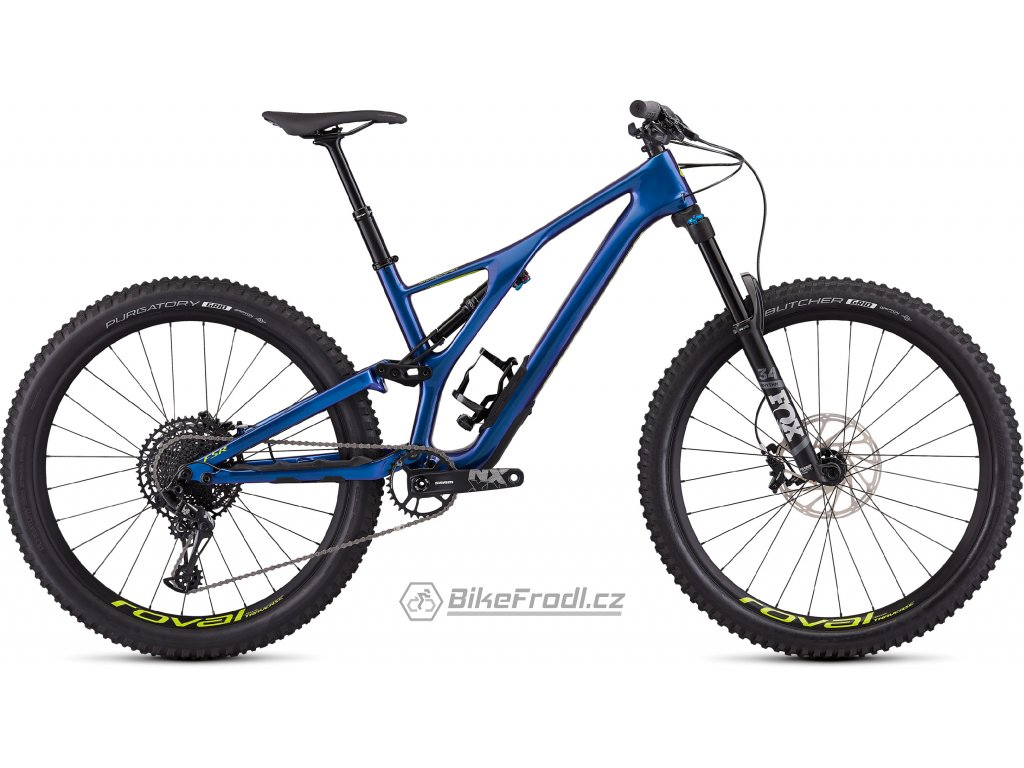 SPECIALIZED Men's Stumpjumper Comp Carbon 27.5—12-speed Gloss Chameleon/Hyper, vel. M