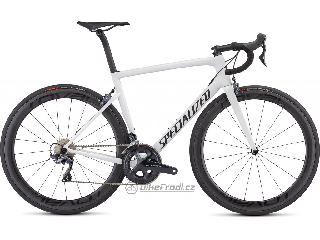 SPECIALIZED Men's Tarmac Expert White/Blue Ghost Pearl/Satin Black/Clean, vel. 56 cm