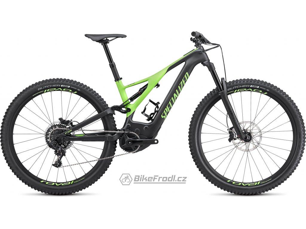 SPECIALIZED Men's Turbo Levo Expert Carbon/Monster Green, vel. L