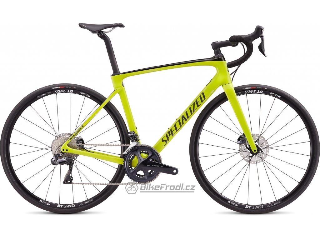 SPECIALIZED Roubaix Comp - Shimano Ultegra Di2 Gloss Hyper/Charcoal, vel. 49 cm
