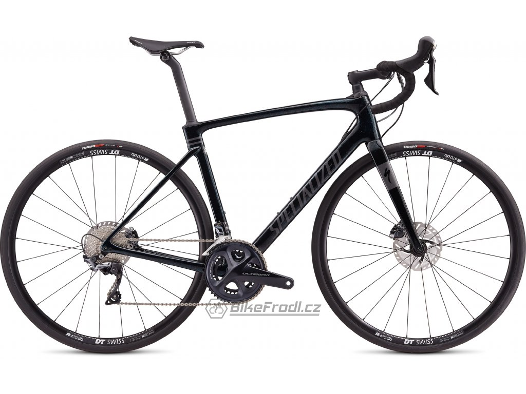 SPECIALIZED Roubaix Comp Gloss Crystal Flake/Black, vel. 44 cm