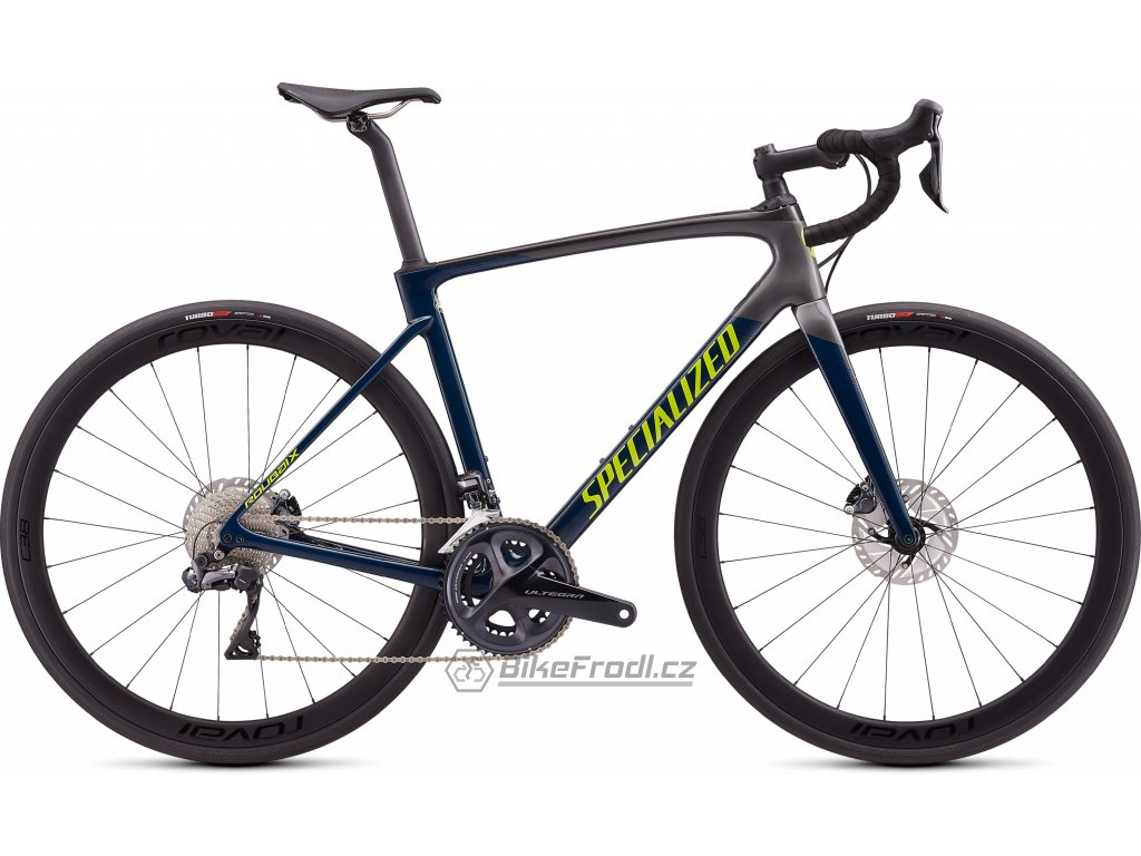 SPECIALIZED Roubaix Expert Gloss Dusty Turquoise-Cast Blue/Charcoal/Hyper, vel. 49 cm