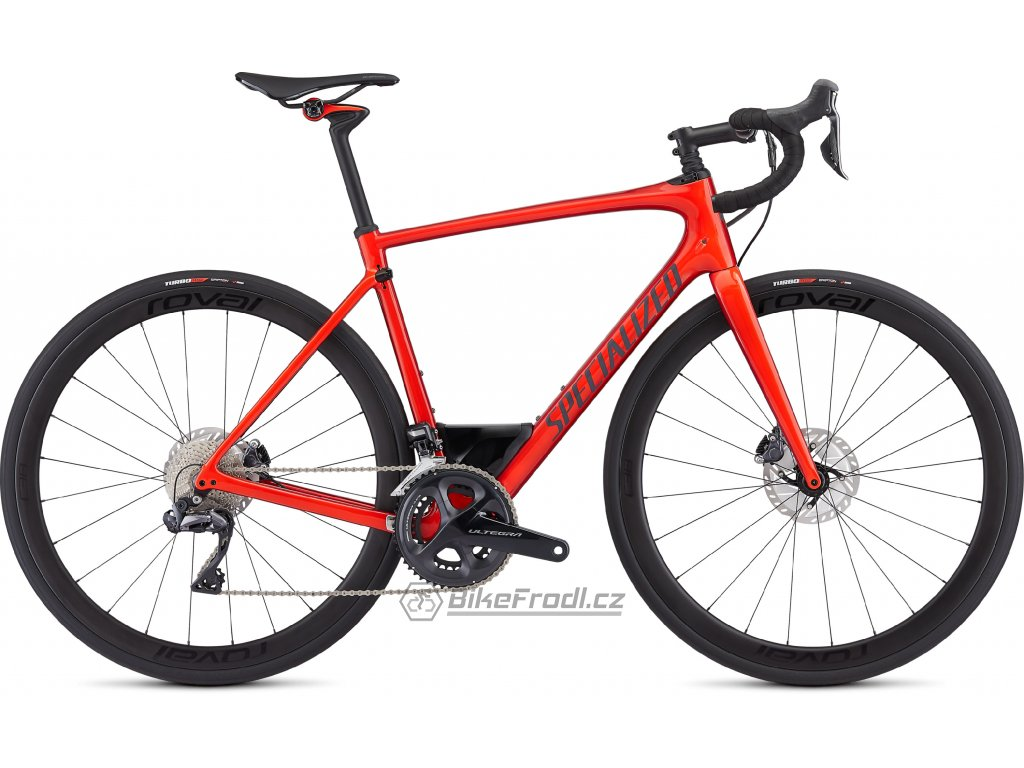 SPECIALIZED Roubaix Expert Gloss Rocket Red/Candy Red Edge Fade/Clean, vel. 52 cm