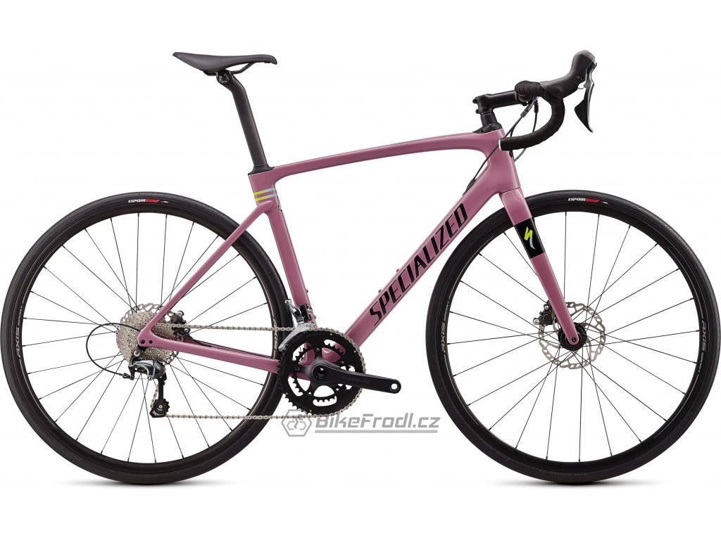 SPECIALIZED Roubaix Gloss Dusty Lilac/Summer Blue-Hyper/Black, vel. 54 cm