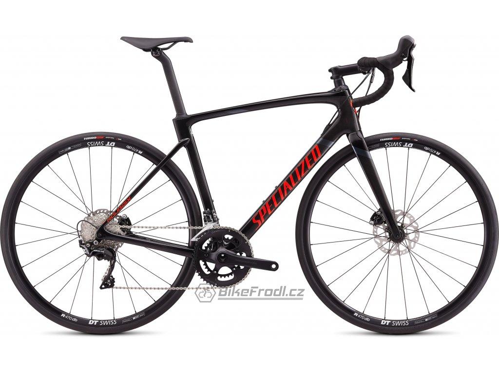 SPECIALIZED Roubaix Sport Gloss Carbon/Rocket Red/Black, vel. 49 cm