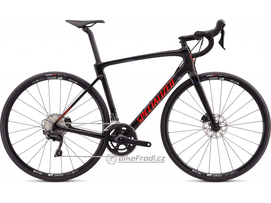SPECIALIZED Roubaix Sport Gloss Carbon/Rocket Red/Black, vel. 58 cm