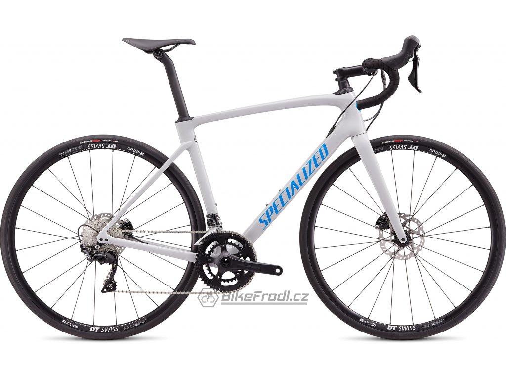 SPECIALIZED Roubaix Sport Gloss Dove Gray/Pro Blue, vel. 54 cm
