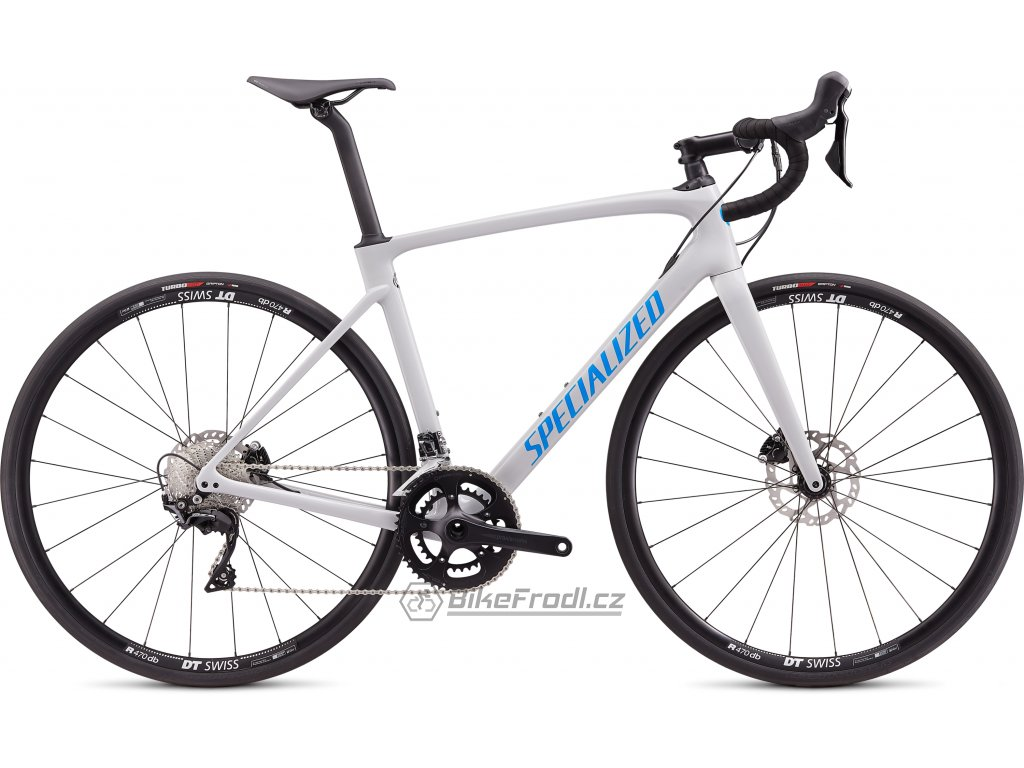 SPECIALIZED Roubaix Sport Gloss Dove Gray/Pro Blue, vel. 58 cm