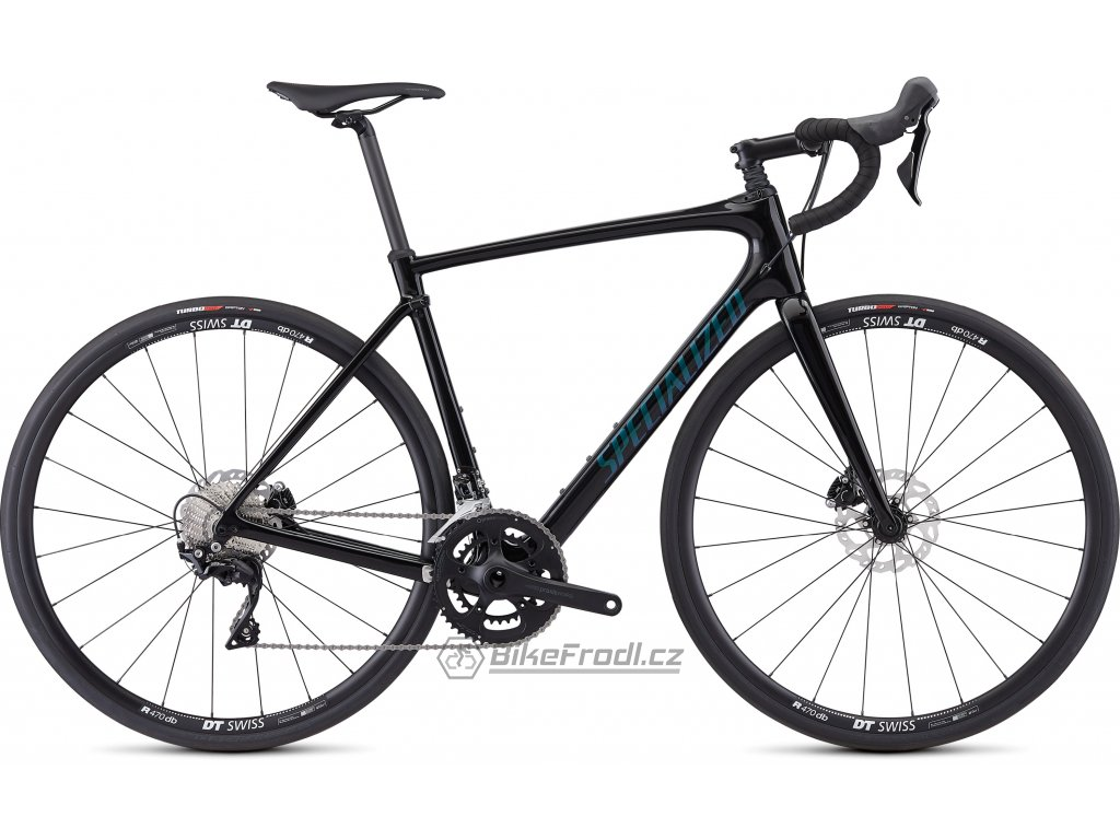 SPECIALIZED Roubaix Sport Gloss Tarmac Black/Oil, vel. 58 cm