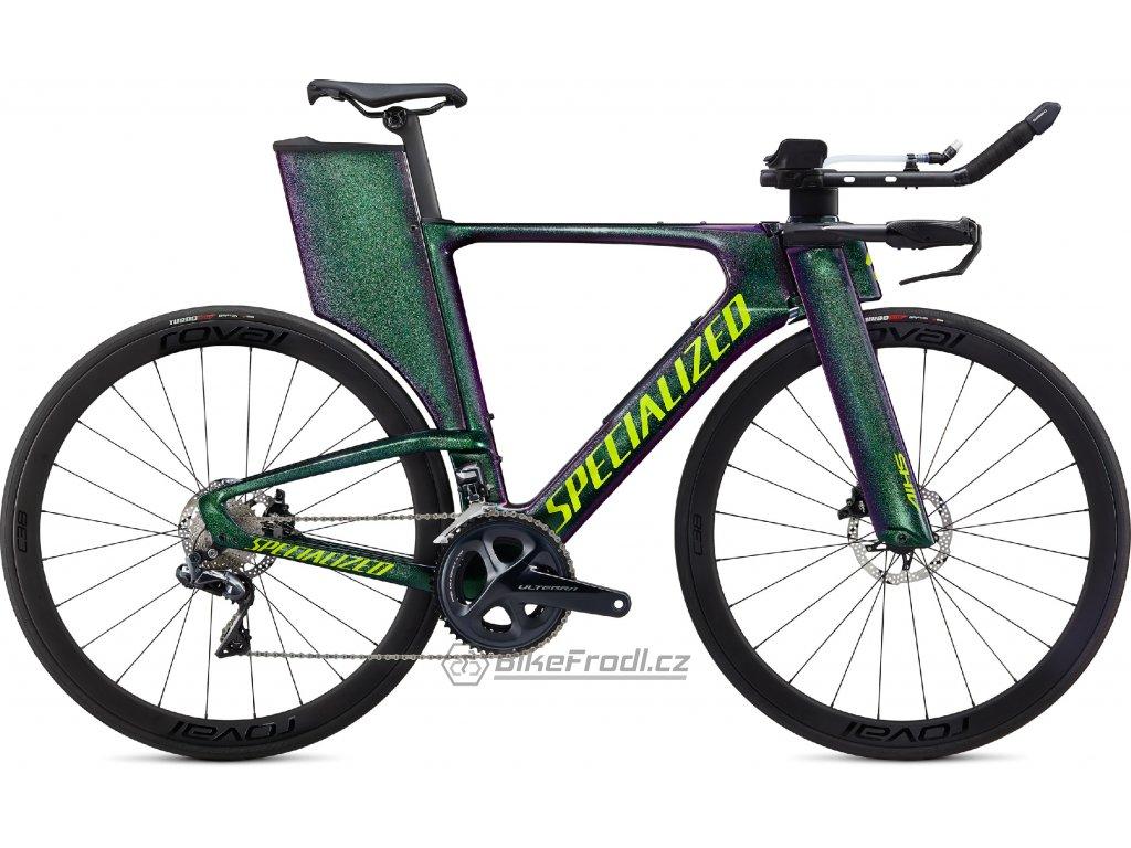 SPECIALIZED Shiv Expert Disc Gloss Green Chameleon/Hyper Green, vel. M