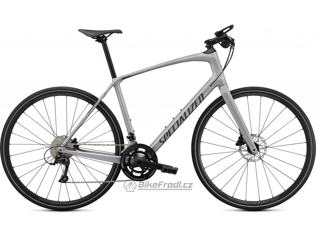 SPECIALIZED Sirrus 4.0 Satin Flake Silver/Charcoal/Black Reflective, vel. M