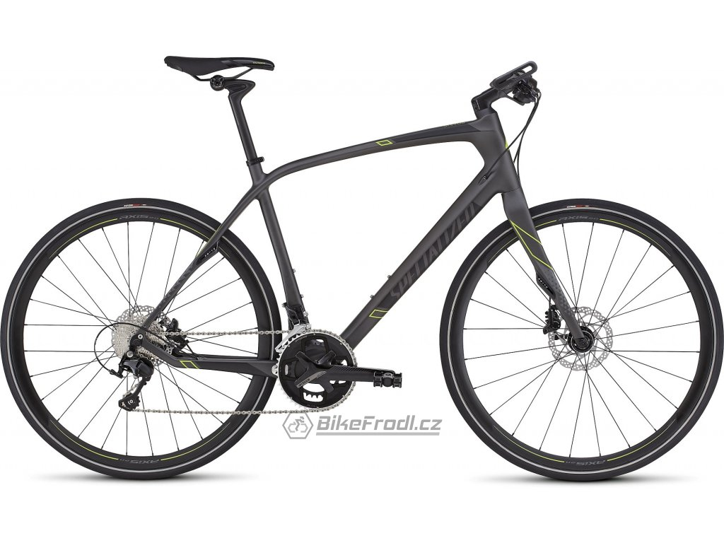 SPECIALIZED Sirrus Expert Carbon Black/Charcoal/Hyper Keyline, vel. L