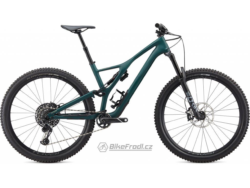 SPECIALIZED Stumpjumper ST LTD Downieville Carbon 29 Satin Jungle Green/Metallic Spruce, vel. L