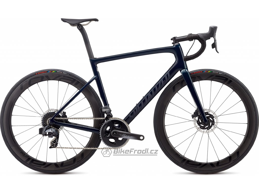 SPECIALIZED Tarmac Disc Pro - SRAM Force eTap AXS Gloss Teal Tint/Black Reflective/Clean, vel. 58 cm