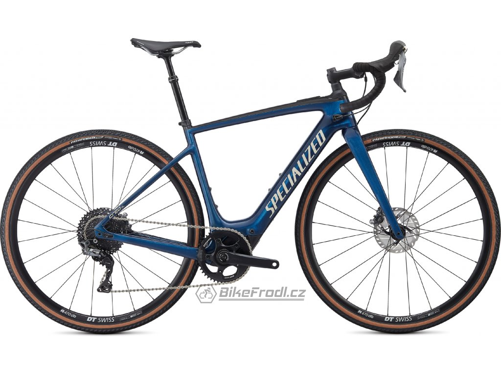 SPECIALIZED Turbo Creo SL Comp Carbon EVO Navy/White Mountains/Carbon, vel. S