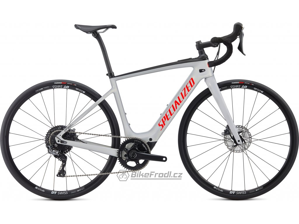SPECIALIZED Turbo Creo SL Comp Carbon Gloss Dove Gray/Gold Ghost Pearl/Rocket Red, vel. XXL