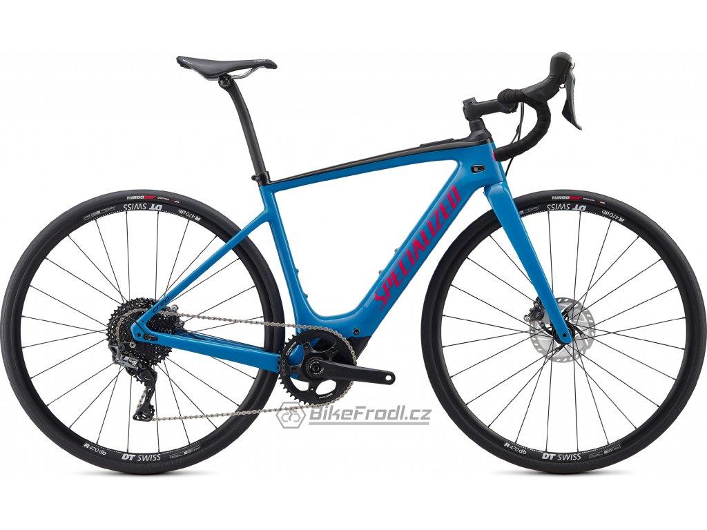 SPECIALIZED Turbo Creo SL Comp Carbon Pro Blue/Vivid Pink/Black, vel. XL