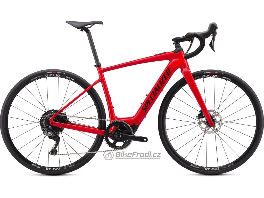 SPECIALIZED Turbo Creo SL Comp E5 Flo Red/White/Black, vel. S