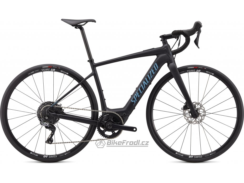 SPECIALIZED Turbo Creo SL Comp E5 Satin Black/Black/Storm Grey, vel. XL