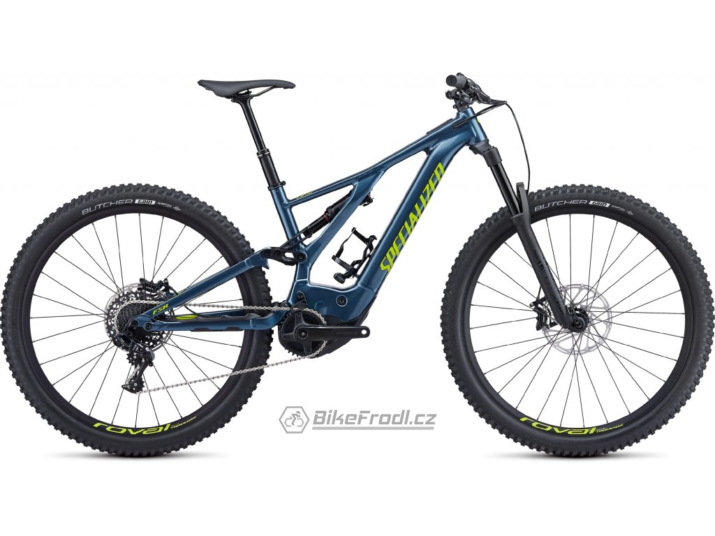 SPECIALIZED Turbo Levo Comp Cast Battleship/Hyper, vel. L