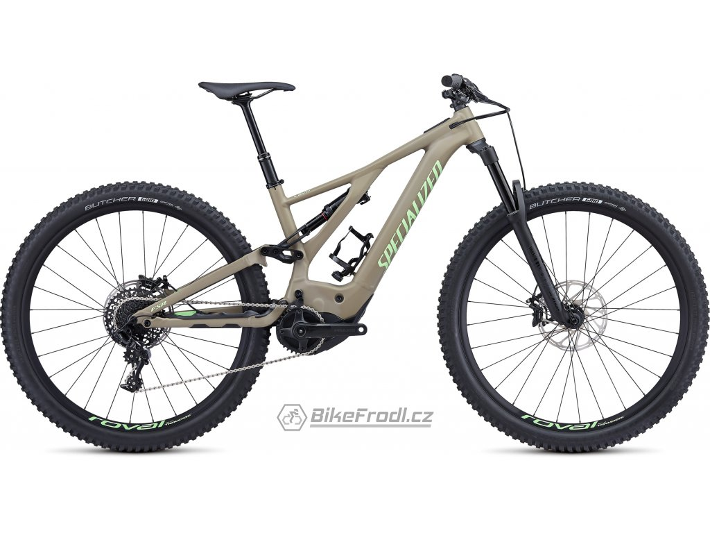 SPECIALIZED Turbo Levo Comp Taupe/Acid Kiwi, vel. XL