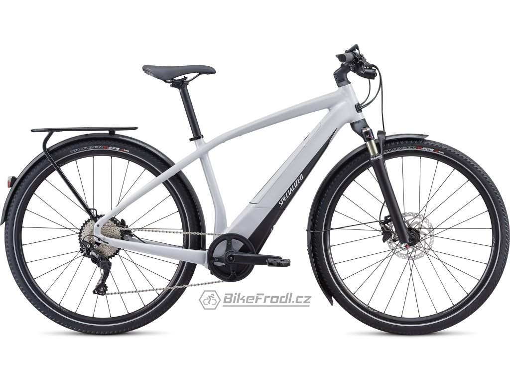 SPECIALIZED Turbo Vado 4.0 Dove Grey/Black/Liquid Silver, vel. S