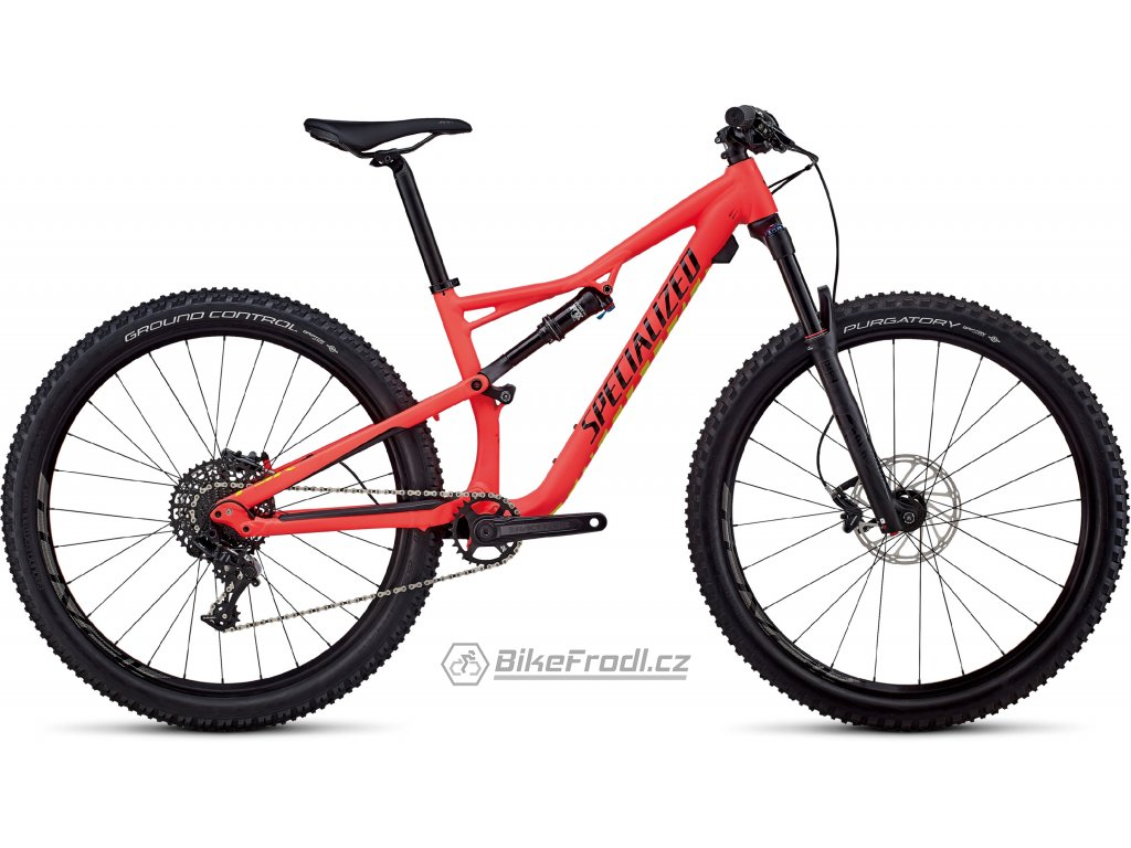 SPECIALIZED Women's Camber Comp 27.5 Satin Gloss Acid Red/Limon/Black, vel. L