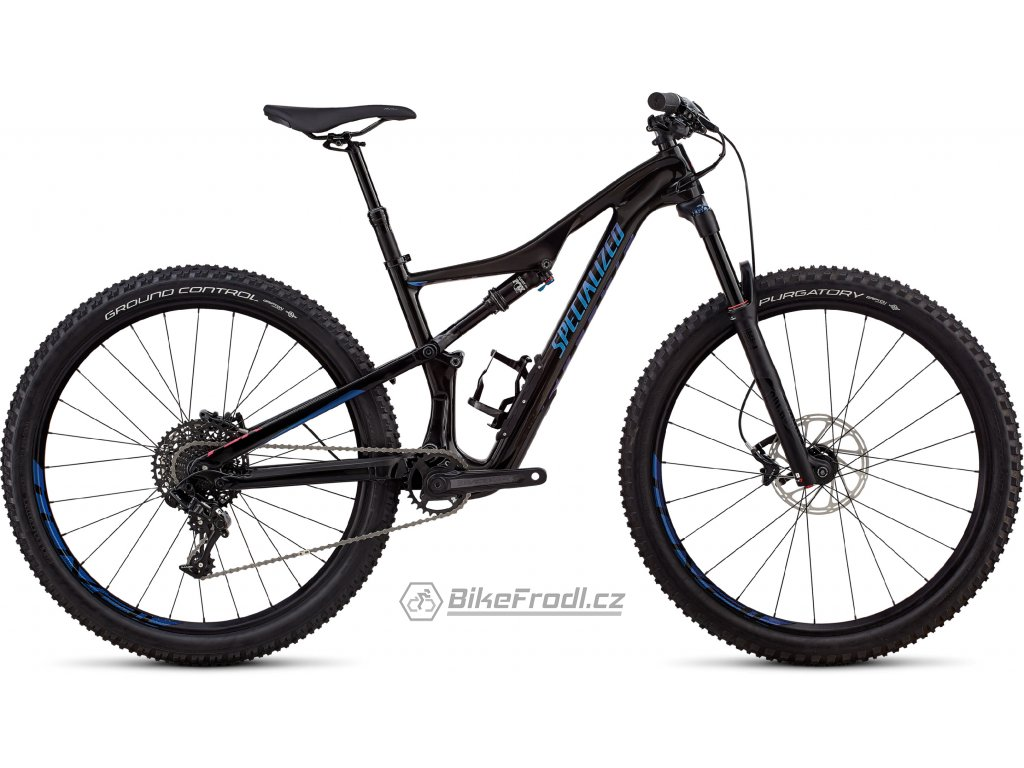 SPECIALIZED Women's Camber Comp Carbon 27.5 Gloss Black Tint Carbon/Chameleon Decals, vel. XS