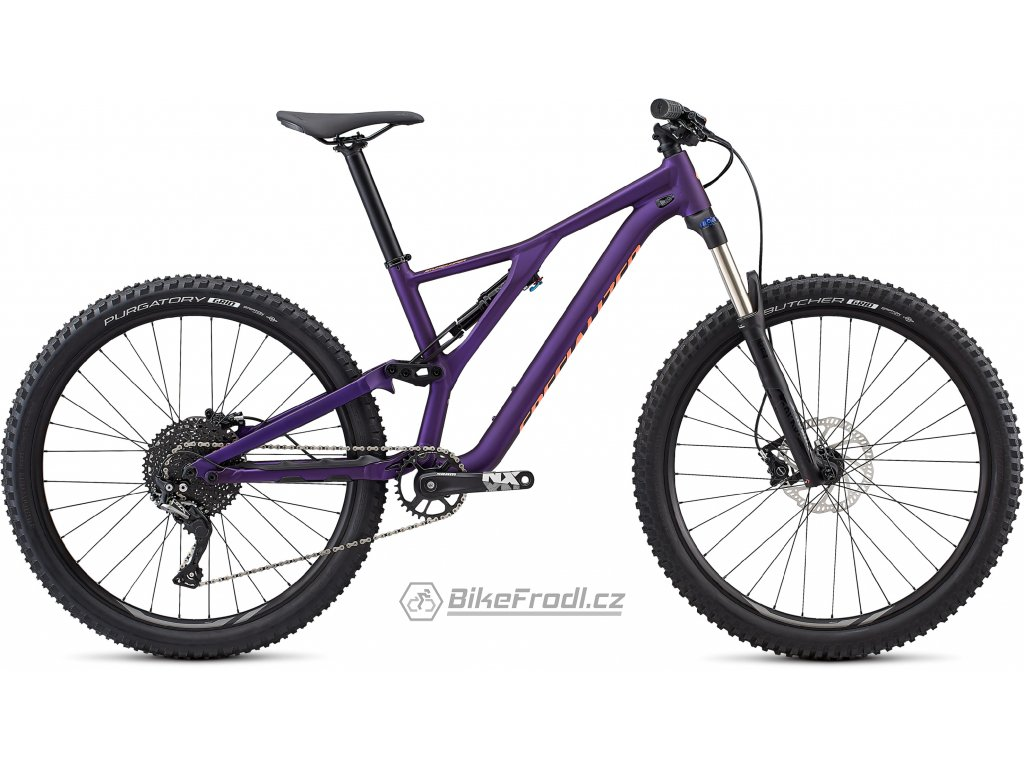 SPECIALIZED Women's Stumpjumper ST Alloy 27.5 Satin Gloss/Plum Purple/Acid Lava, vel. L