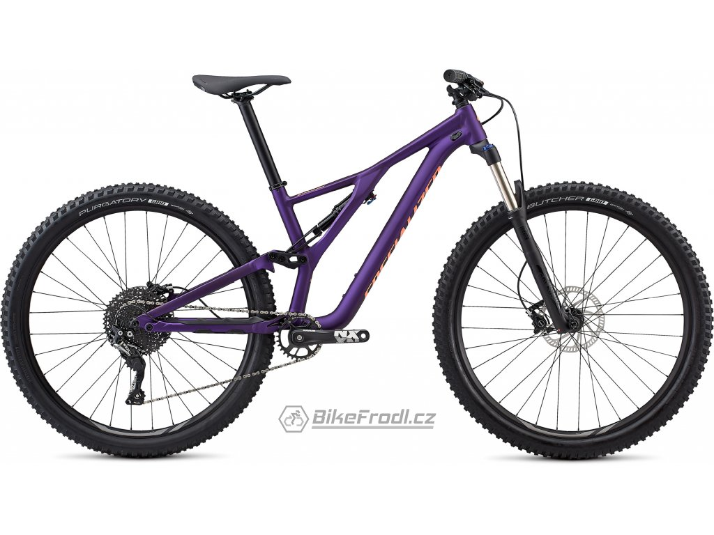 SPECIALIZED Women's Stumpjumper ST Alloy 29 Satin Gloss/Plum Purple/Acid Lava, vel. S