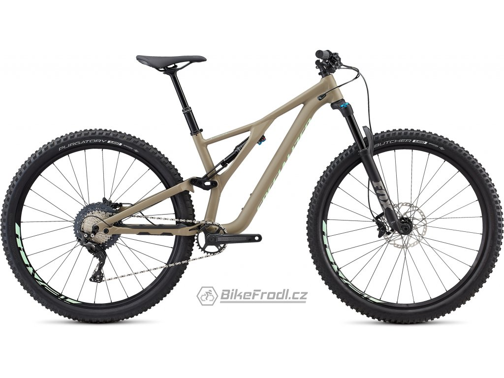 SPECIALIZED Women's Stumpjumper ST Comp Alloy 29 Satin/Taupe/Acid Kiwi, vel. M