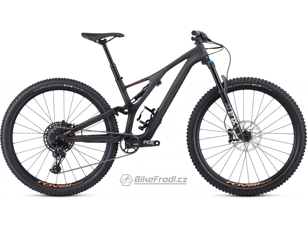 SPECIALIZED Women's Stumpjumper ST Comp Carbon 29 - 12-speed Satin Carbon/Acid Lava, vel. S
