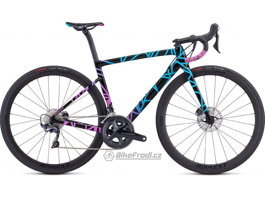 SPECIALIZED Women's Tarmac Disc Expert - Mixtape LTD Mixtape Collection, vel. 49 cm