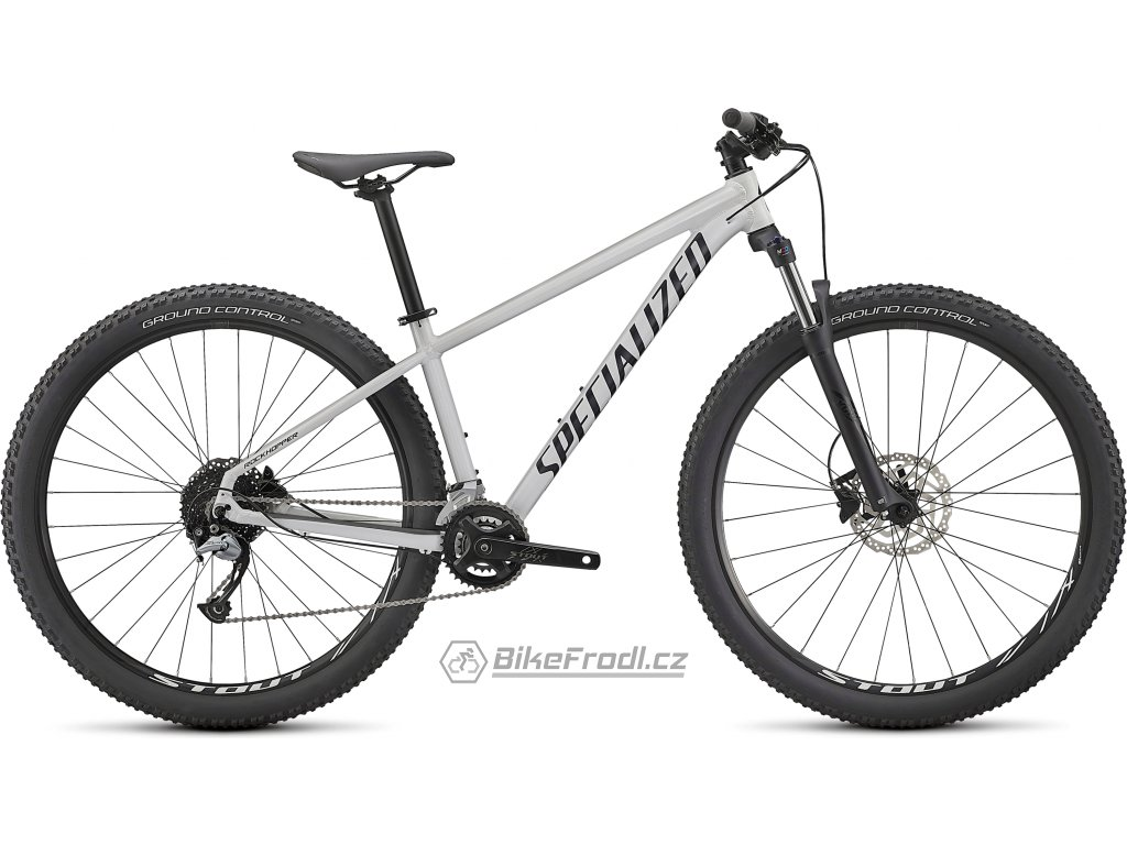 SPECIALIZED Rockhopper Comp 27.5 2x, Gloss Metallic White Silver/Satin Black, vel. XS