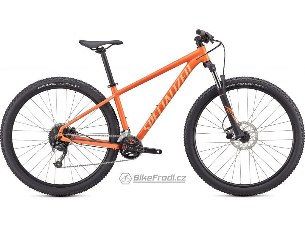 SPECIALIZED Rockhopper Sport 27.5, Gloss Blaze/Ice Papaya, vel. S