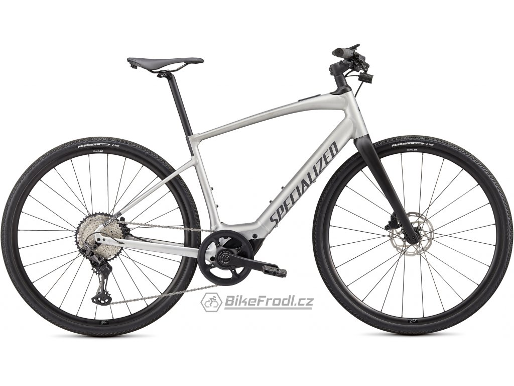 SPECIALIZED Turbo Vado SL 5.0, Brushed Aluminum/Black Reflective, vel. L
