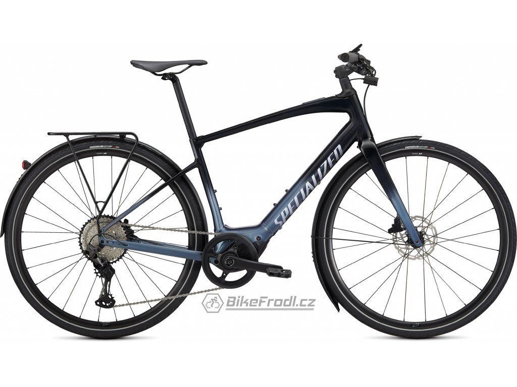 SPECIALIZED Turbo Vado SL 5.0 EQ, Tarmac Black/Cast Battleship/Black Reflective, vel. S