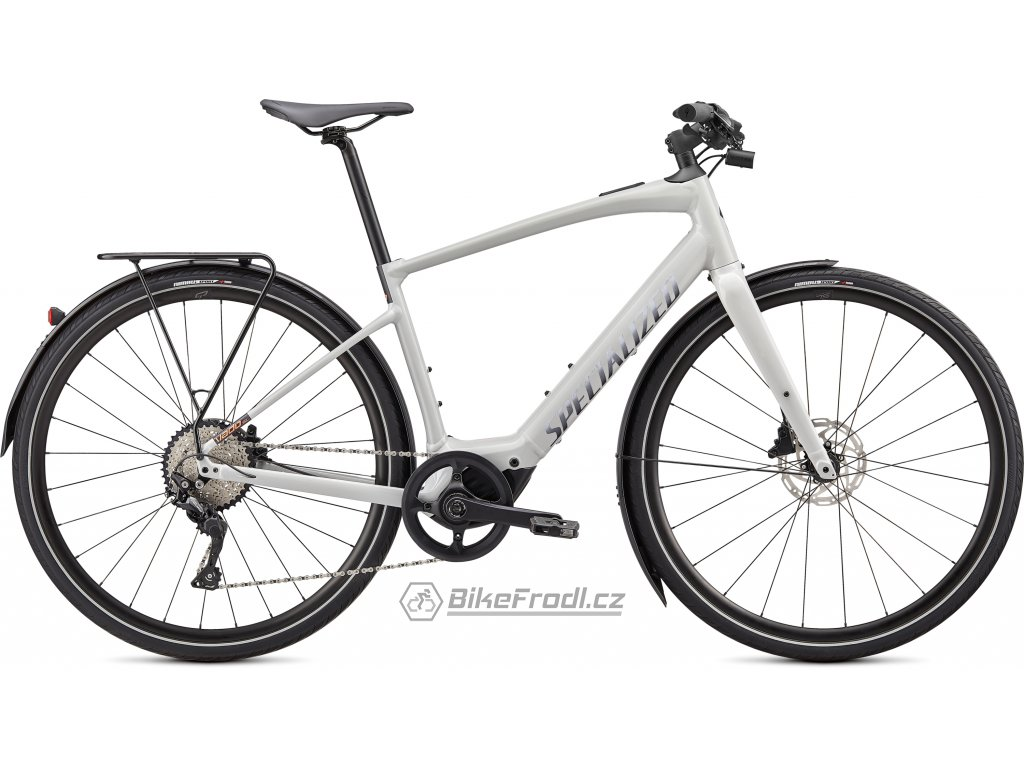 SPECIALIZED Turbo Vado SL 4.0 EQ, Dove Gray/Acid Lava/Cast Black Reflective, vel. S